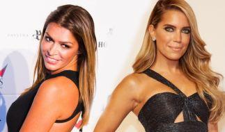 Sabia Boulahrouz (l.) oder Sylvie Meis - Wer ist das bessere Model? (Foto)
