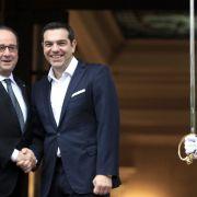 Hollande stellt Athen Umschuldung in Aussicht (Foto)