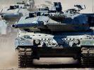 Deutschland wird vier solche Panzer des Typs Leopard 2 an Katar liefern. (Foto)