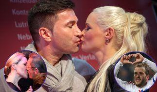 Daniela Katzenberger und Lucas Cordalis, Rafael van der Vaart oder die Wulffs - bei den Promis liegt Liebe in der Luft. (Foto)