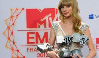 Bei den diesjährigen EMAs ist Taylor Swift mehrmals nominiert. (Foto)