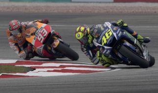 Rossi und Márquez gerieten in Malaysia nicht das erste Mal aneinander. (Foto)
