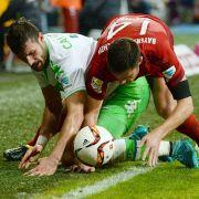 Bayern-Gala gegen demoralisierte Wolfsburger - 3:1 beim Cupsieger (Foto)