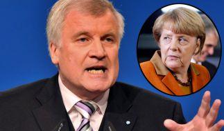 Horst Seehofer hat Bundeskanzlerin Angela Merkel scharf für ihre Flüchtlingspolitik kritisiert. (Foto)