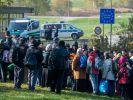 Flüchtlingsstrom nach Deutschland ungebrochen