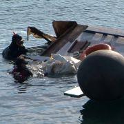 Boot vor Lesbos gekentert - Kinder ertrinken im Mittelmeer (Foto)