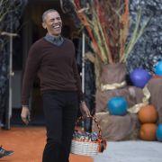 Buhuuu! So ausgelassen feiern die Obamas Halloween (Foto)