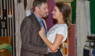 Frederic Riefflin und Jasmin Flemming glücklich verliebt. (Foto)