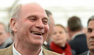 Der ehemalige Präsident des Fußball-Bundesligisten FC Bayern München, Uli Hoeneß. (Foto)
