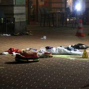 Polizist erschießt Messer-Angreifer (46) (Foto)