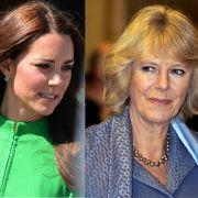 Treibt Camilla Parker Bowles einen Keil zwischen Herzogin Kate und Harry? (Foto)