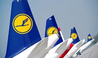 Der Lufthansa droht ein wochenlanger Streik. (Foto)