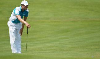 Der Deutsche Martin Kaymer bei einem Golf-Turnier in Wisconsin, USA. (Foto)