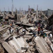 Schweres Unglück: Fabrik in Pakistan eingestürzt (Foto)