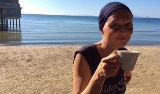 Hendrikje Fitz richtete sich aus dem Toskana-Urlaub mit einer rührenden Botschaft an ihre Fans. (Foto)
