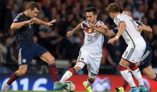 Deutschland verteidigt Platz zwei im aktuellen Ranking der Fifa-Weltrangliste. (Foto)