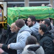 Getöteter Flüchtlingsjunge Mohamed in Berlin beerdigt (Foto)