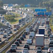 Achtung Stau! Auf diesen Autobahnen brauchen Sie am Sonntag Zeit (Foto)