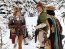 Der Prinz muss drei Aufgaben lösen, die Aschenbrödel ihm stellt. (Foto)