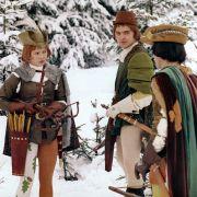Der Prinz muss drei Aufgaben lösen, die Aschenbrödel ihm stellt.