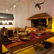 Auch eine Schlossküche gehört zur 3HFA-Ausstellung.