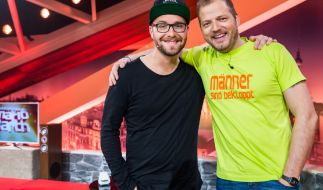 Mark Forster war am Samstagabend (07.11.2015) zu Gast bei Mario Barth. (Foto)