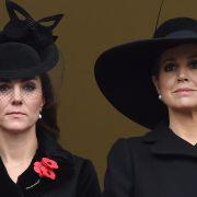 Emotionales Wiedersehen: Darum trägt Kate Middleton Trauer (Foto)