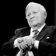 Altkanzler im Alter von 96 Jahren gestorben (Foto)