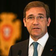 Portugals Regierung gestürzt (Foto)