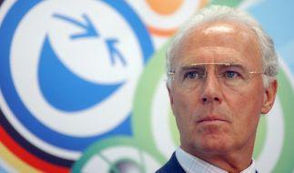 Seine Freunde und Kollegen stehen weiter hinter Franz Beckenbauer. (Foto)