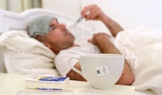 Männer leiden wirklich schlimmer an einer Erkältung als Frauen. (Foto)