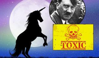 Einhornlicht, Nazis im Weltall oder Giftflugzeuge - die Liste der Verschwörungstheorien ist lang. (Foto)