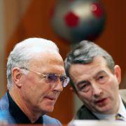 Wie lange wusste Niersbach vom Beckenbauer-Papier? (Foto)