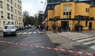 Das Mannschaftshotel des DFB in Paris musste evakuiert werden. (Foto)