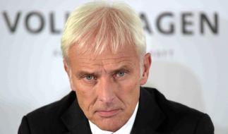 Matthias Müller ist seit September 2015 der neue Mann an der Spitze des VW-Konzerns. (Foto)