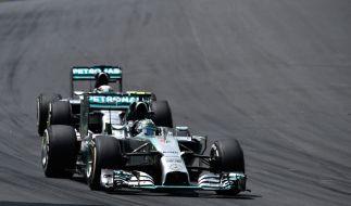 Auch wenn der diesjährige Formel-1-Weltmeister bereits feststeht, so bleibt der Kampf um Platz zwei noch immer spannend. (Foto)
