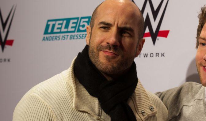 Wrestling-Superstar Cesaro ließ es sich nicht nehmen, nach Leipzig zu kommen. (Foto)