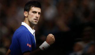 Novak Djokovic möchte auch bei den ATP-World-Tour-Finals den Titel holen. (Foto)