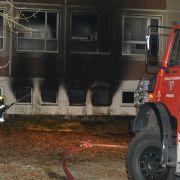 Flüchtlingsunterkunft auf Usedom ausgebrannt (Foto)