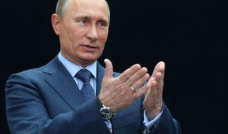 Russlands Präsident Wladimir Putin schirmt sein Privatleben vor der Öffentlichkeit ab. (Foto)