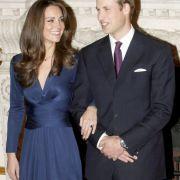 Ganz königlich: Kate Middleton und Prinz William feiern ihre Verlobung (Foto)