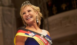 Die 56-jährige Martina Selke aus Friedrichsdorf gewinnt die Wahl zur Miss 50plus Germany 2016. (Foto)