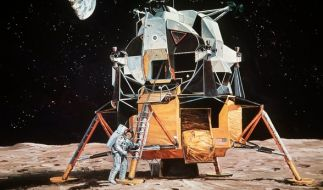 Haben die Astronauten während der Mondmission Aliens gesehen? (Foto)