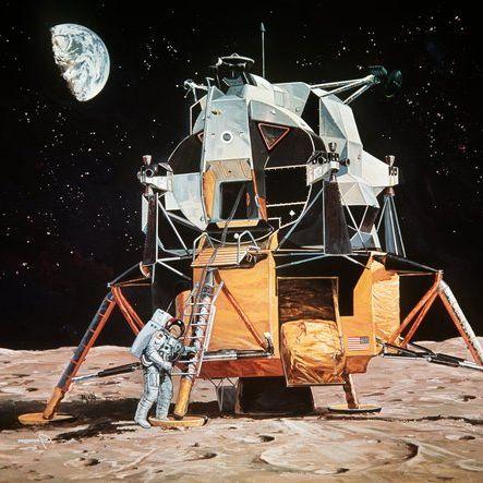 Wurde die Mondlandung durch Aliens begleitet? (Foto)