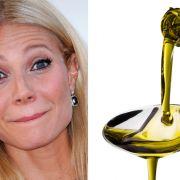 Gwyneth Paltrow schwört aufs Ölziehen. Angeblich bekommt man davon eine schönere Haut, weißere Zähne und beugt Krankheiten vor. Man spült den Mund bei diesem Beauty-Trend mit einem Teelöffel Planzenöl - 20 Minuten lang!
