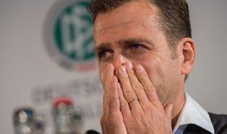 Manager der deutschen Nationalmannschaft, Oliver Bierhoff. (Foto)