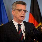 ZDF-Spezial mit Thomas de Maizière zur aktuellen Terror-Gefahr in Deutschland (Foto)