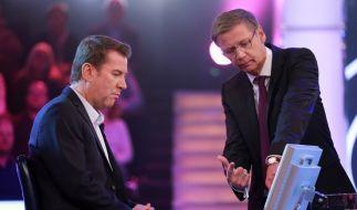 Günther Jauch: Er war plötzlich nur noch Zuschauer. (Foto)