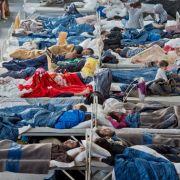 Wieder Brandstiftung und Schlägereien unter Flüchtlingen (Foto)