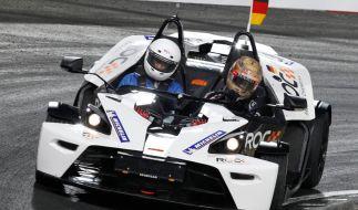 Beim Race of Champions treten die besten Motorsportler der Welt gegeneinander an. (Foto)